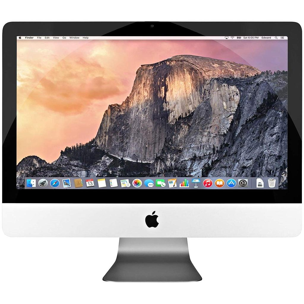 Apple iMac MC978LL/A 21.5in Desktop Computer - Silver (Renewed) con 8 giga e ssd